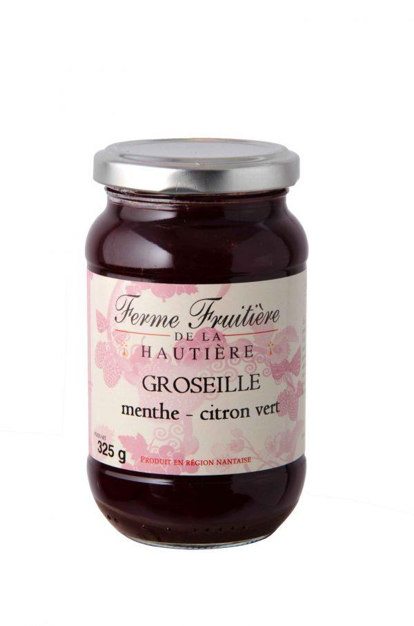 Confiture de Groseille (Menthe et Citron) (120g)