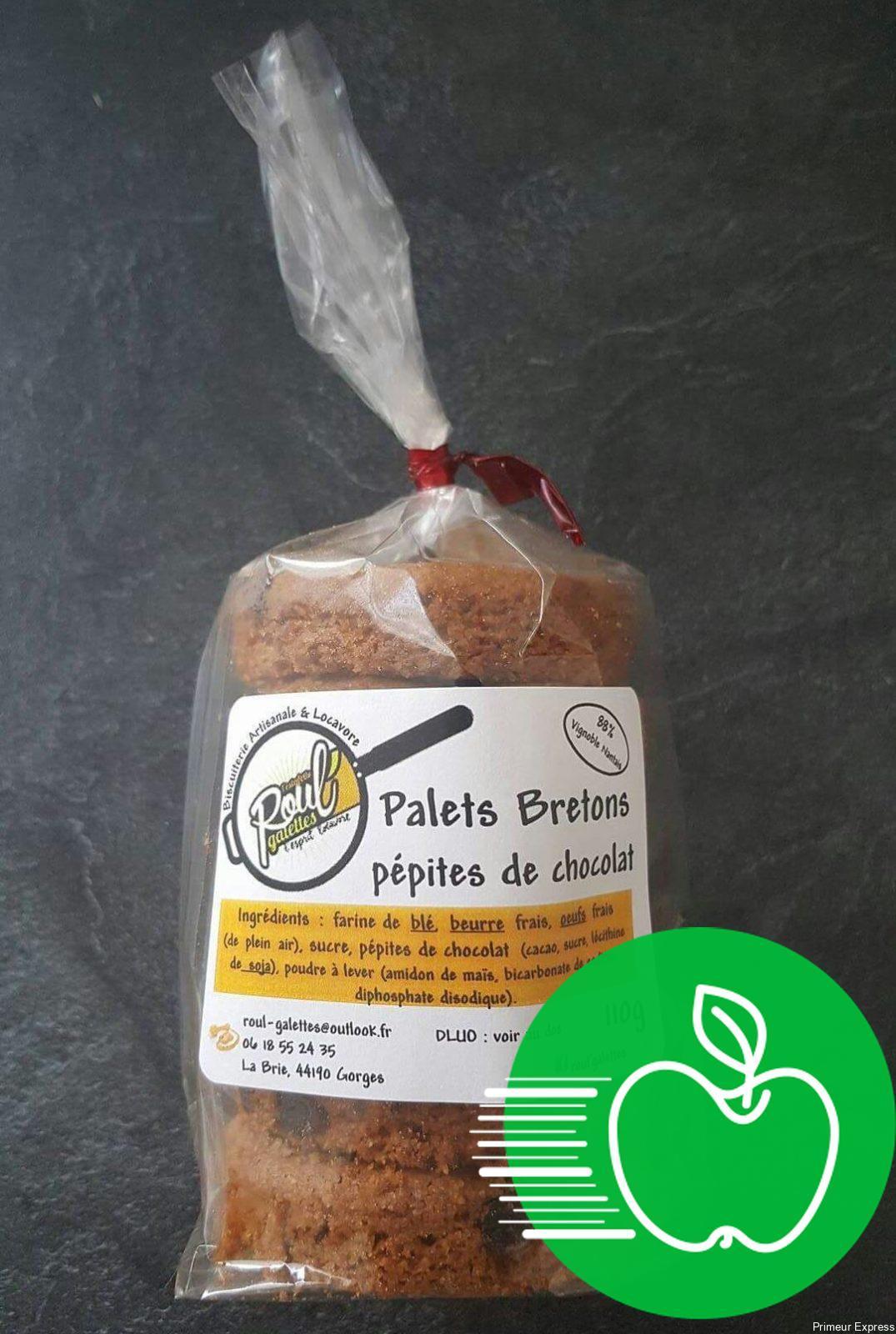 Palets Bretons Pépites de Chocolat