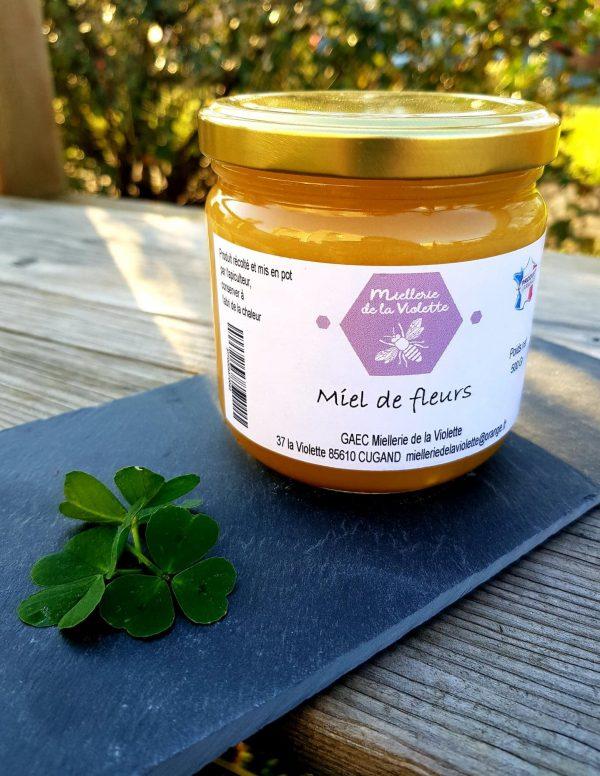 Miel de Fleurs Crémeux (500g)