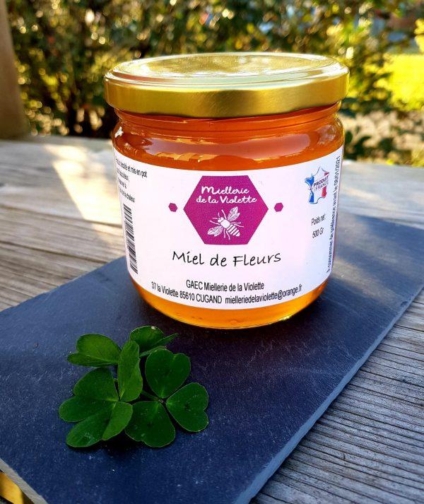 Miel de Fleurs Liquide (500g)