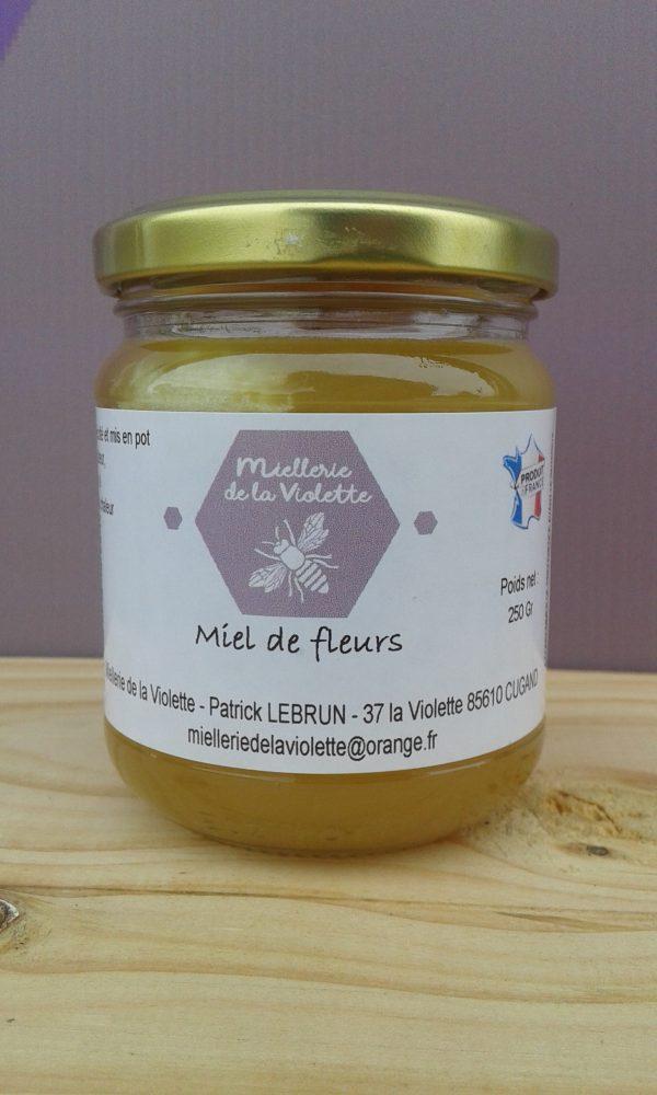 Miel de Fleurs Crémeux (250g)