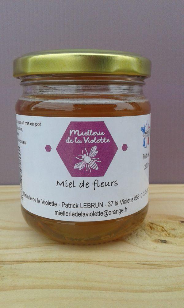Miel de Fleurs Liquide (250g)