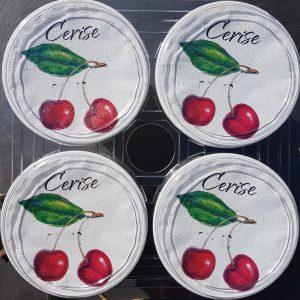 Yaourts Aromatisés à la Cerise (X4)