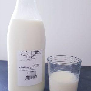 Lait Demi-Ecrémé Pasteurisé (1L)