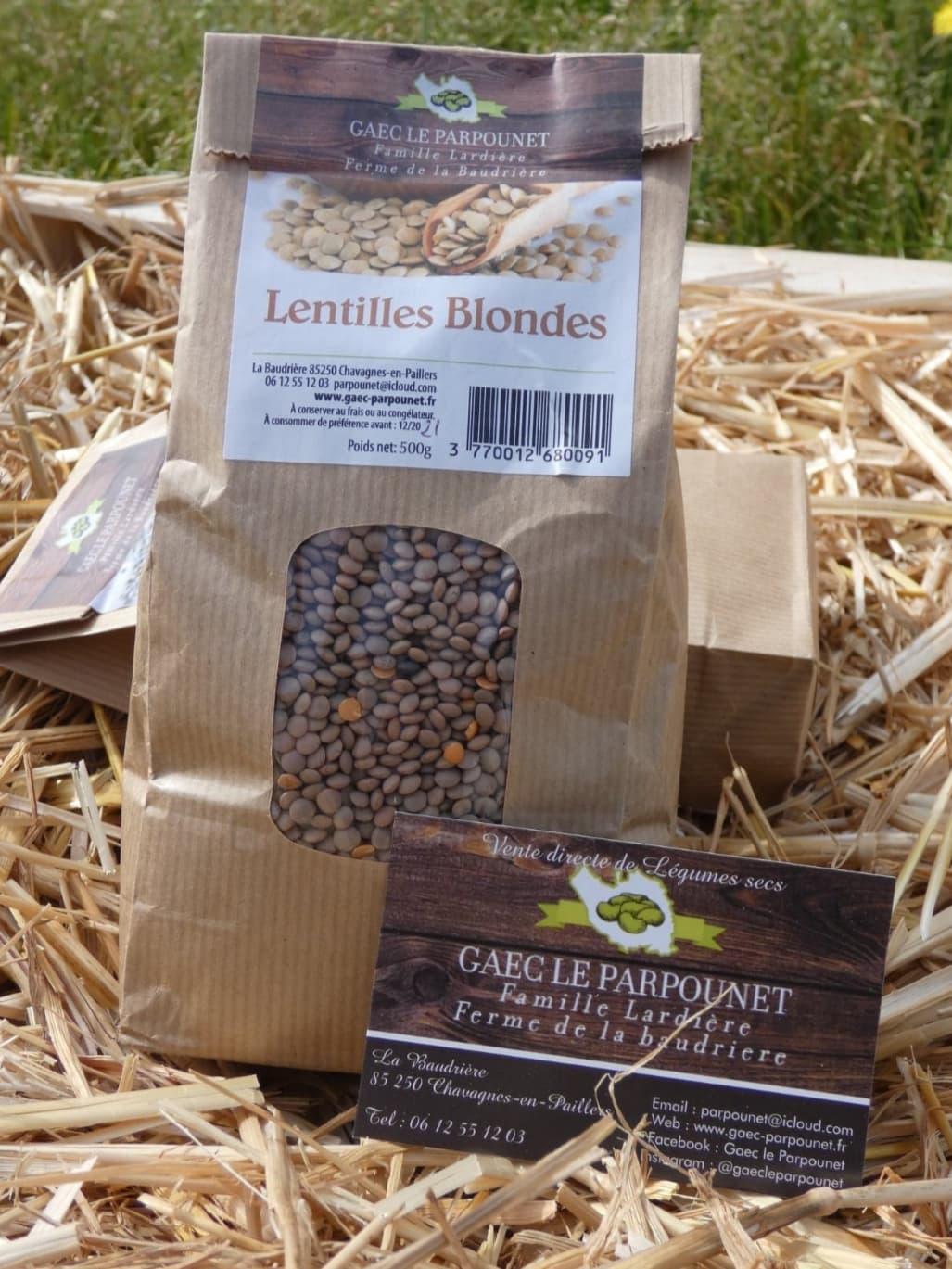 Lentilles Blondes (500g) 1