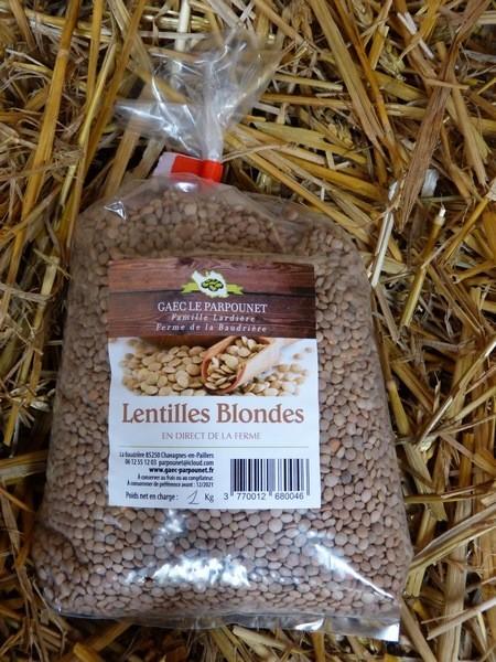 Lentilles Blondes (1kg)
