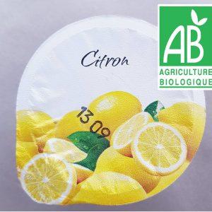 Yaourts Citrons BIO (x4)