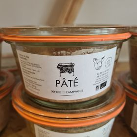 Pâté de Foie BIO (200g) 1