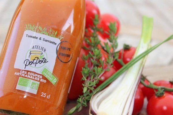 Gazpacho Tomate et Sarriette BIO (50cl)