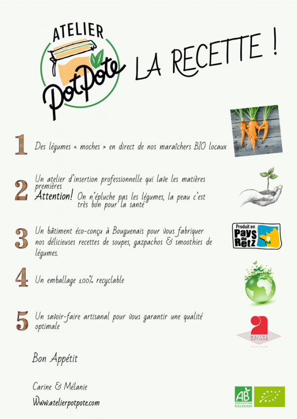 Gazpacho Carotte, Ail et Fenouil BIO (50cl)