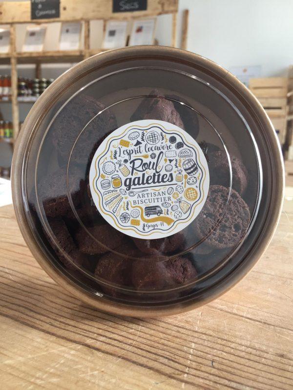 Sablés Chocolat à fleur de sel de Guérande (150g) 1