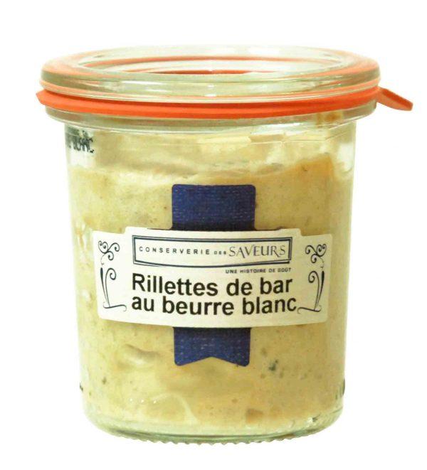 Rillettes de Bar au beurre blanc (100g) 1