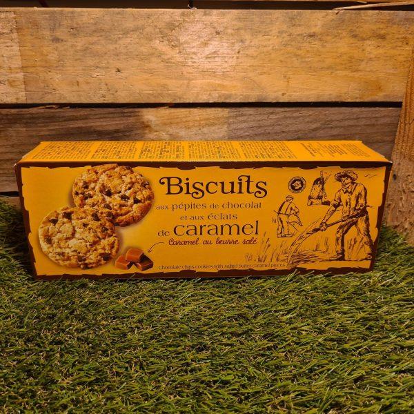 Biscuits pépites de chocolat éclats de caramel (200g) 1