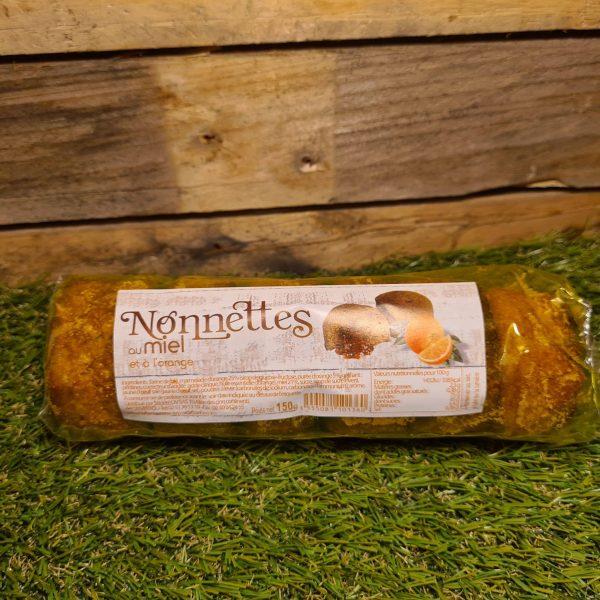 Nonnettes au miel fourrées orange (150g) 1