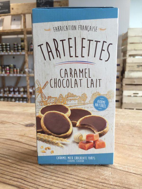 Tartelettes chocolat nappées caramel au beurre salé (125G) 1