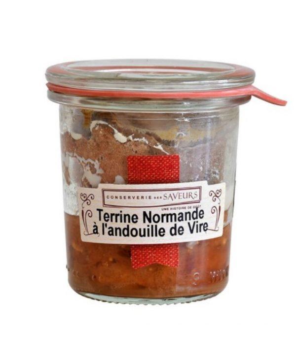 Terrine Normande à l'andouille de Vire (100g) 1