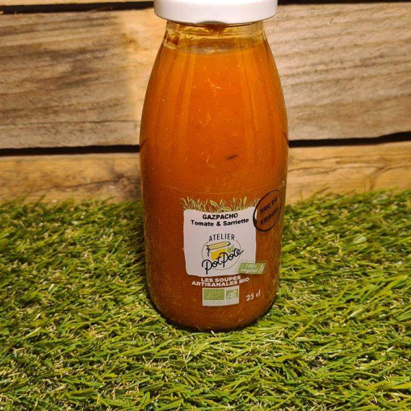 Gazpacho Tomate et Sarriette BIO (25cl) 1