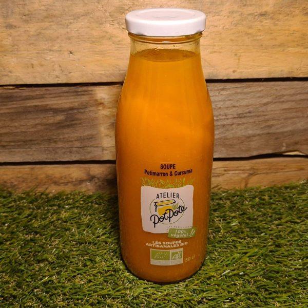 Soupe Potimarron et Curcuma BIO (50cl) 1