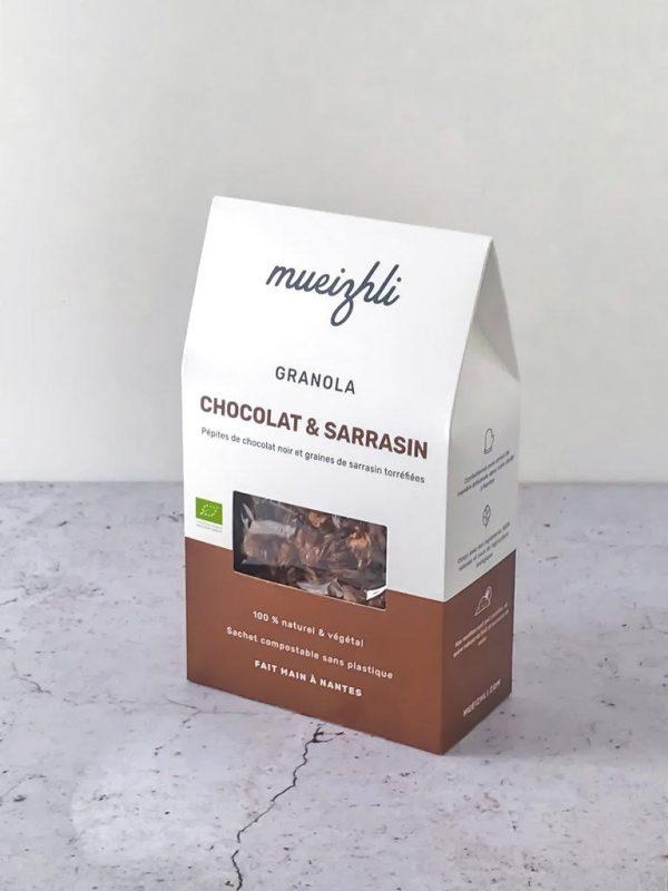 Granola Chocolat et Sarrasin BIO (300g) 1
