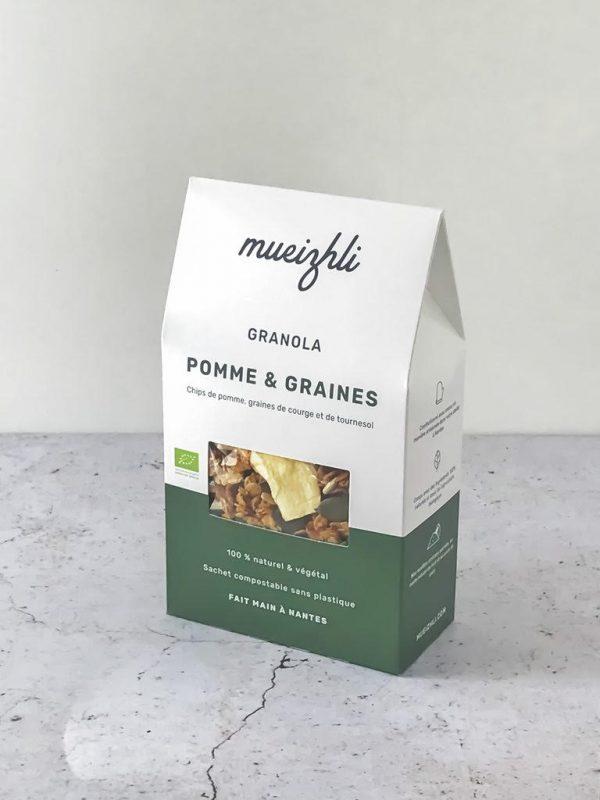 Granola Pommes et Graines BIO (300g) 1