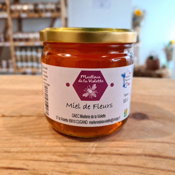 Miel de Fleurs Liquide (500g) 1