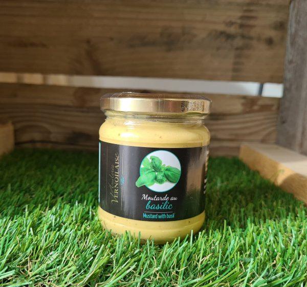 Moutarde au Basilic (200g) 1