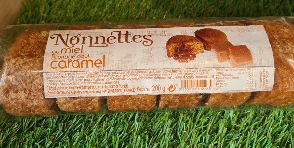 Nonnettes au miel fourrées caramel (200g) 1