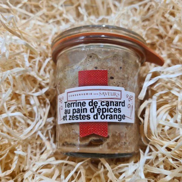 Terrine de Canard au Pain d'Epices et zeste d'Orange (100g) 1