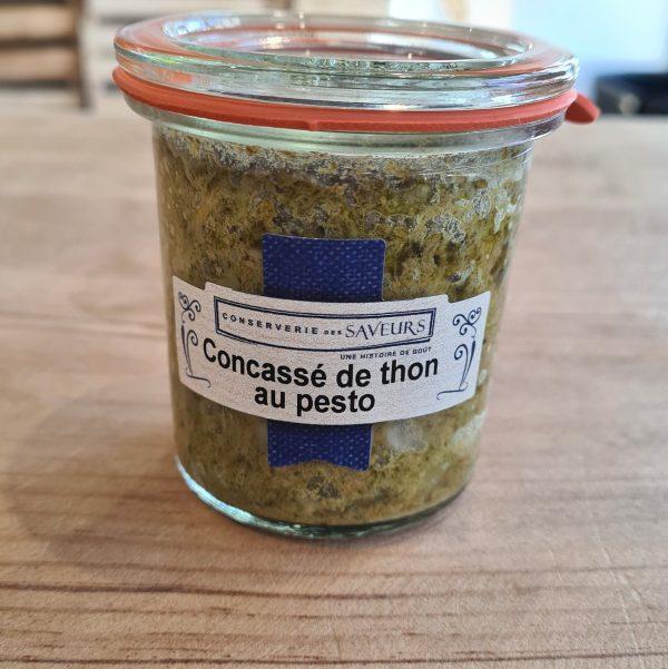 Concassé de Thon au Pesto (100g) 1