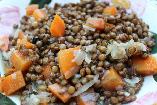 Tendres lentilles aux carottes (2 à 4 pers.) 1