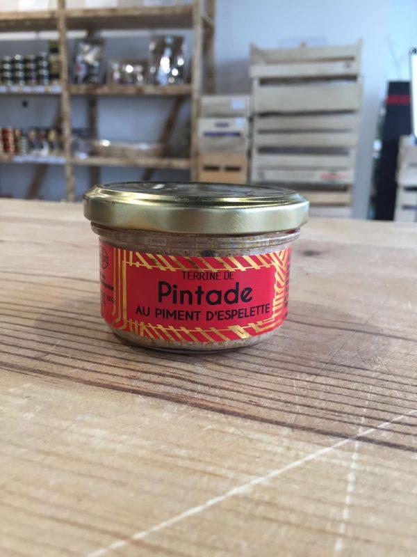 Terrine de Pintade au Piment d'Espelette (90g) 1
