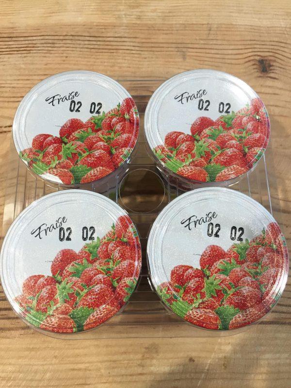 Yaourts aux Fruits (Fraise) X4 1