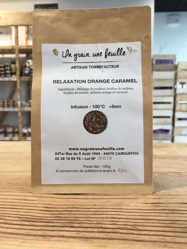 Relaxation Orange Caramel (100g) 1