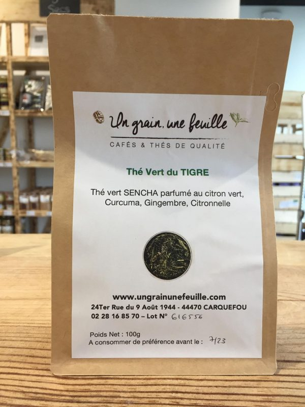 Thé Vert du Tigre (100g) 1