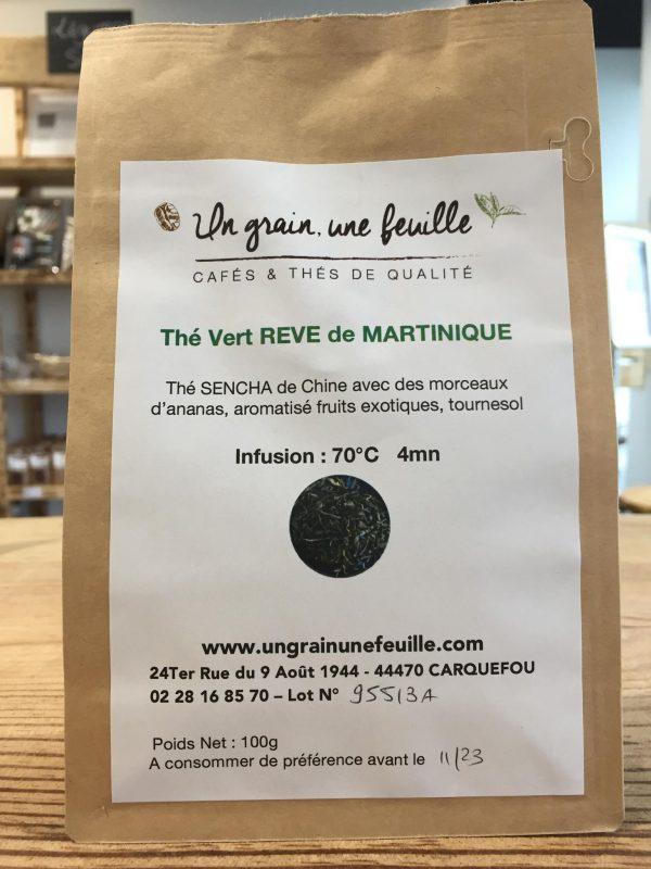 Thé Vert Rêve de Martinique (100g) 1
