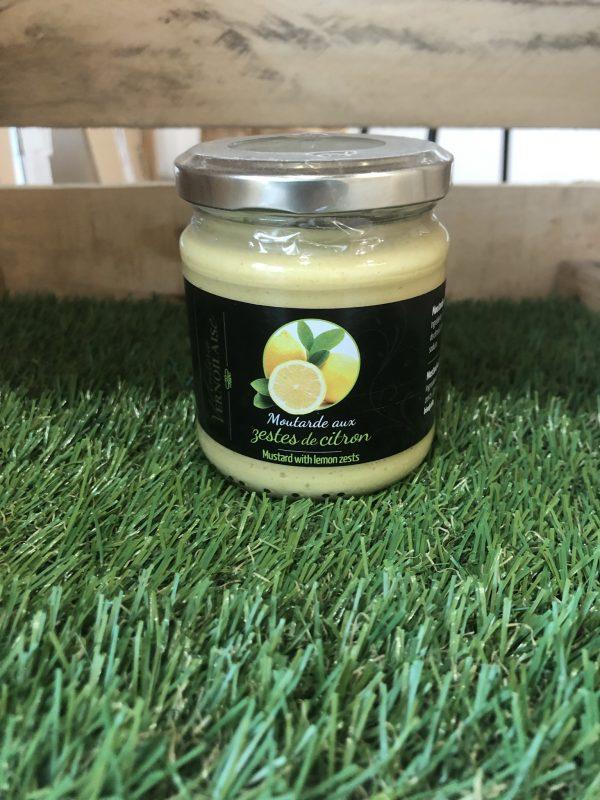 Moutarde aux Zestes de Citron (200g) 1