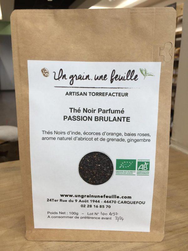Thé Noir Parfumé Passion Brûlante (100g) 1