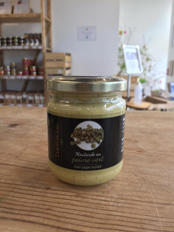 Moutarde au Poivre Vert (200g) 1