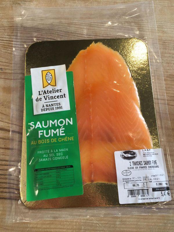 Saumon Fumé (2 Tranches) 2