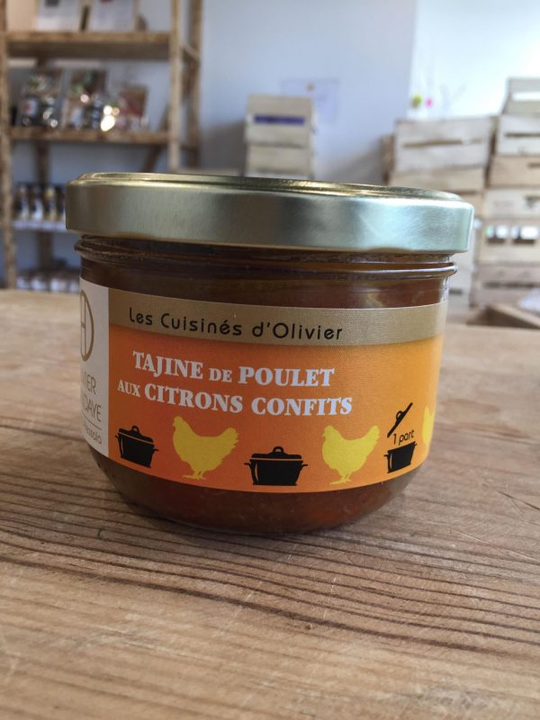 Tajine de Poulet aux Citrons Confits (360g) 1