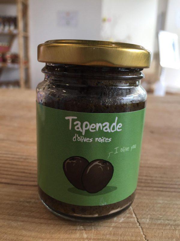 Tapenade d'Olives Noires (90g) 1