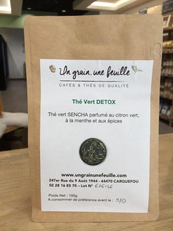 Thé Vert Detox (100g) 1