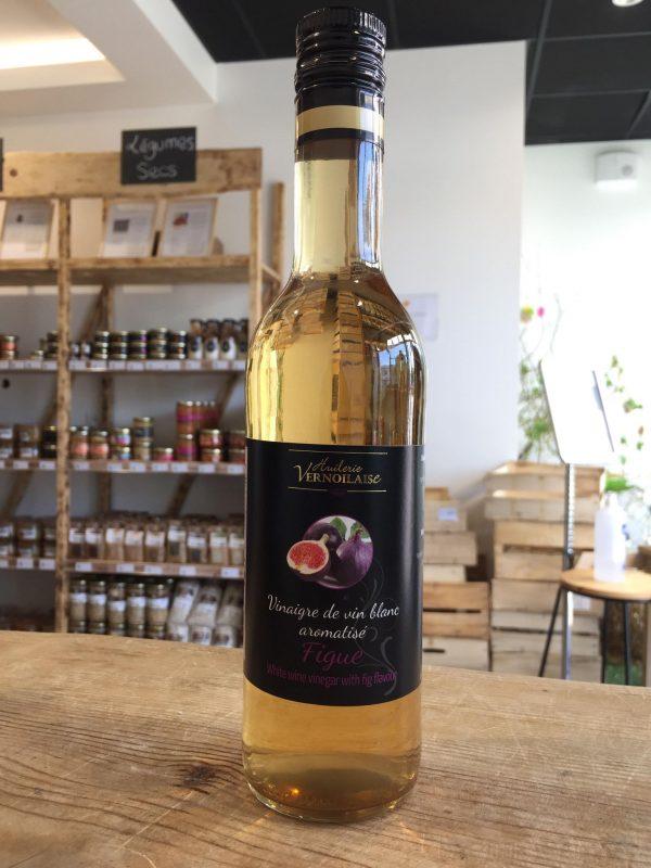 Vinaigre de Vin Blanc Aromatisé Figue (500ml) 1