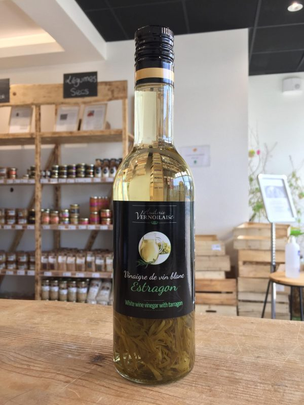 Vinaigre de Vin Blanc Estragon (500ml) 1