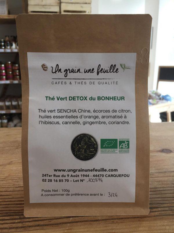 Thé Vert Detox du Bonheur (100g) 1