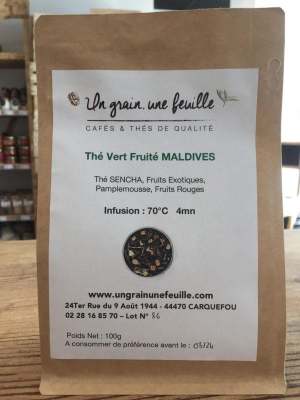 Thé Vert Fruité des Maldives (100g) 1