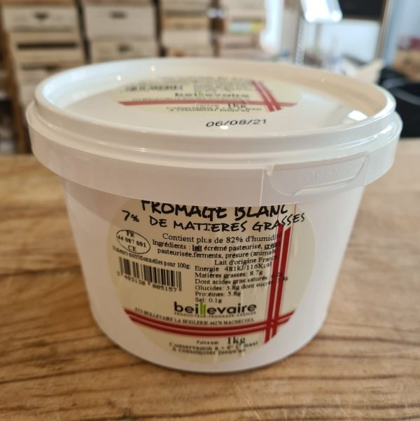 Fromage Blanc 7% (100cl) 1